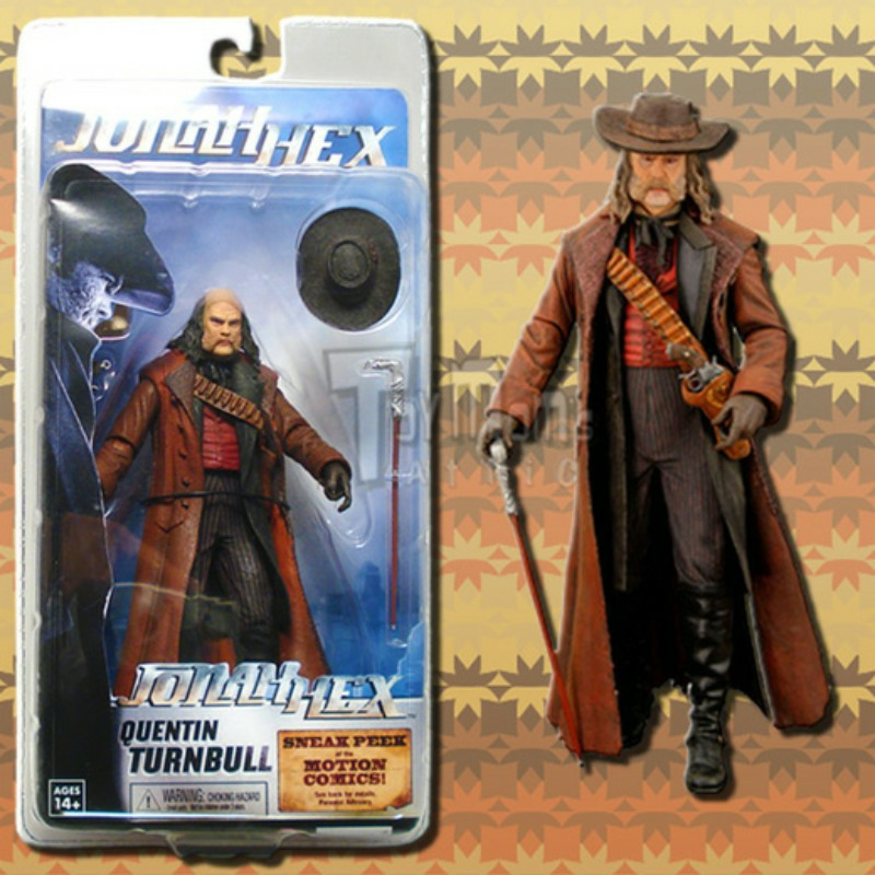 NEW ON CARD QUENTIN TURNBULL FROM JONAH HEX DC COMICS
