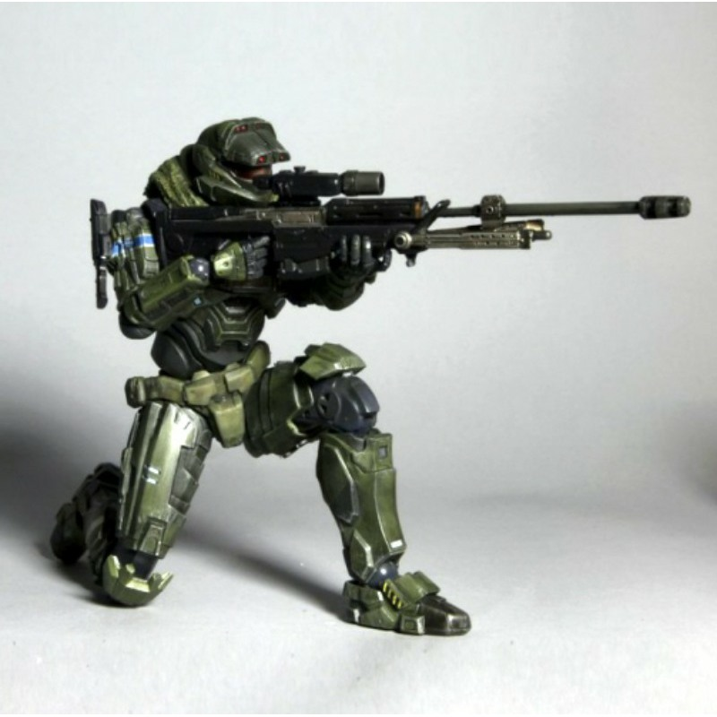 Halo Reach Square Enix Play Arts Kai Series 1 Action Figure Warrant Officer Jun