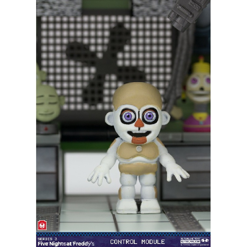 Control Module 280 Pcs Sister Location Five Nights At Freddy s Construction Set