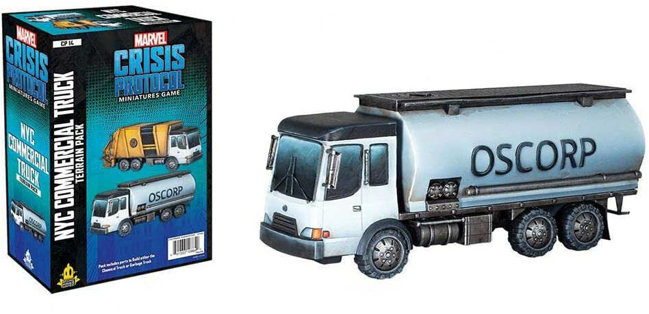 Crisis Protocol NYC Commercial Truck Terrain Pack  CP14EN Marvel